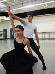 Francesca Forcella and Nayon Iovino. Photo by Mitch Walker.