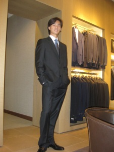 Jun Shuang Huang at Neiman Marcus, 1