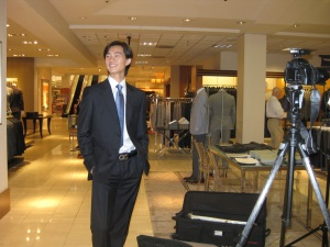 Jun Shuang Huang at Neiman Marcus, 2