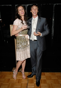 Phoebe Tudor and Phillip Broomhead at Dancing with the Houston Stars