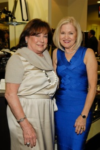 Chairman Jo Furr(right) with Honoree Rose Cullen at Festari PWL Studio