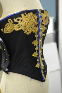 Woman's corset. Photo by Valerie Reeves of Art Institute of Houston North.