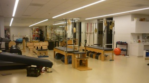 Body Conditioning Room at Houston Ballet Center for Dance