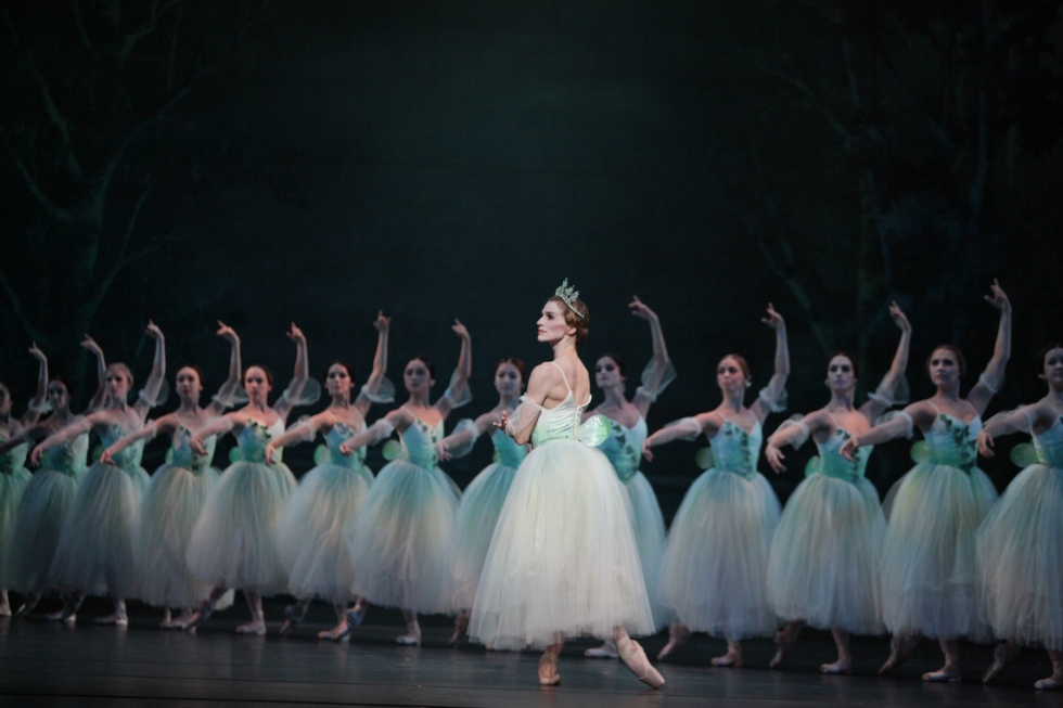 Kelly Myernick in Giselle Photo: Amitava Sarkar