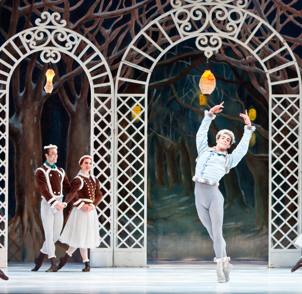 Joseph Walsh and Artists of Houston Ballet in Sir Frederick Ashton's Les Patineurs
