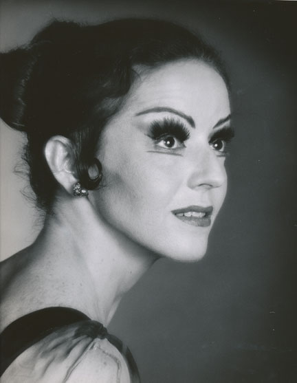 Houston Ballet Principal Dancer Andrea Vodehnal in 1982