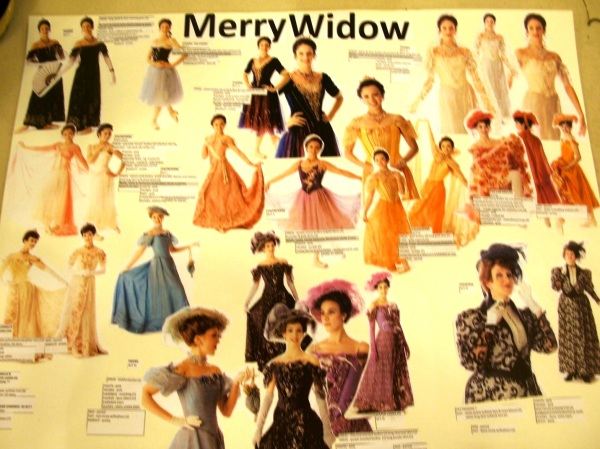 Storyboard The Merry Widow