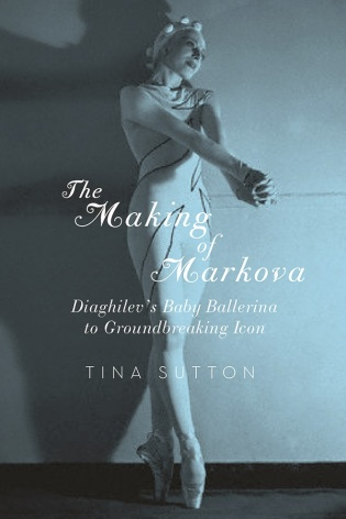 """The Making of Markova"" by Tina Sutton. Book Cover."
