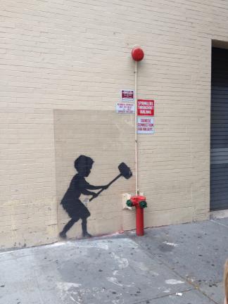 NYC Bansky Art