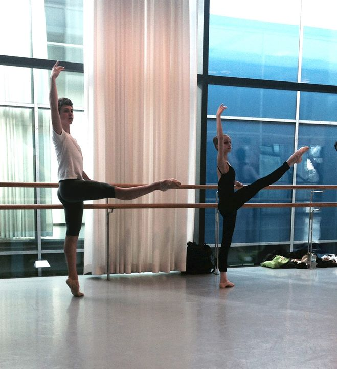 Houston Ballet Academy Students in Germany 1