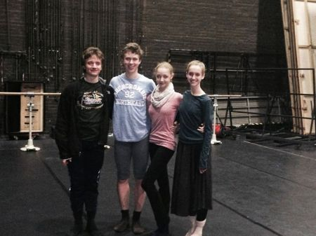 Houston Ballet Academy Dancers in Germany