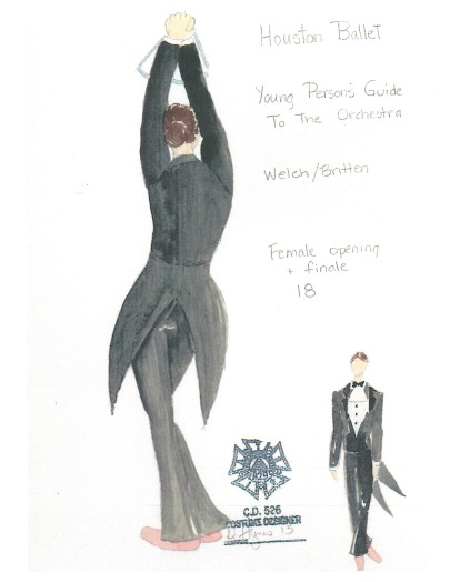 Costume sketch 3