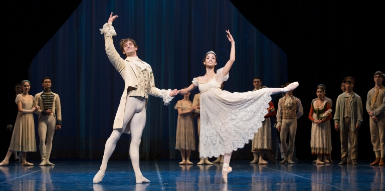 Houston Ballet Gonzalez and Robison