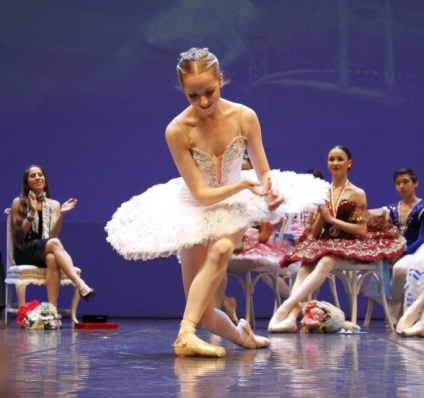 Deanna Pearson at Instanbul International Ballet Competition