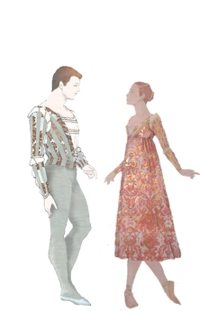 Sketches by Costume and Scenic Designer Roberta Guidi di Bagno