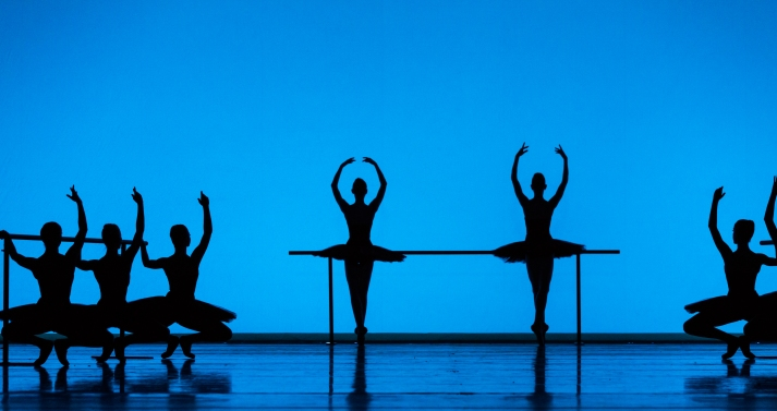Etudes; Artists of Houston Ballet; photo by Amitava Sarkar