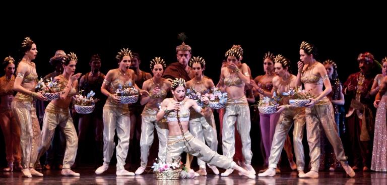 Artists of Houston Ballet; Photo by Amitava Sarkar
