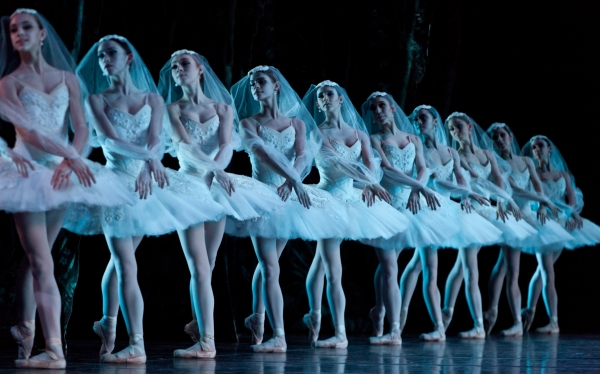 Artists of Houston Ballet; Photo by Amitava Sarkar