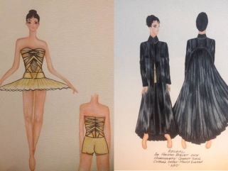 Costume Sketches by Monica Guerra