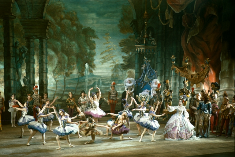 Prologue of the Sadler's Wells Ballet production of 'The Sleepin